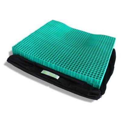 green honeycomb mesh pressure cushion